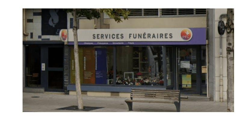 Photographie de la Pompes Funèbres Générale à Saint-Etienne