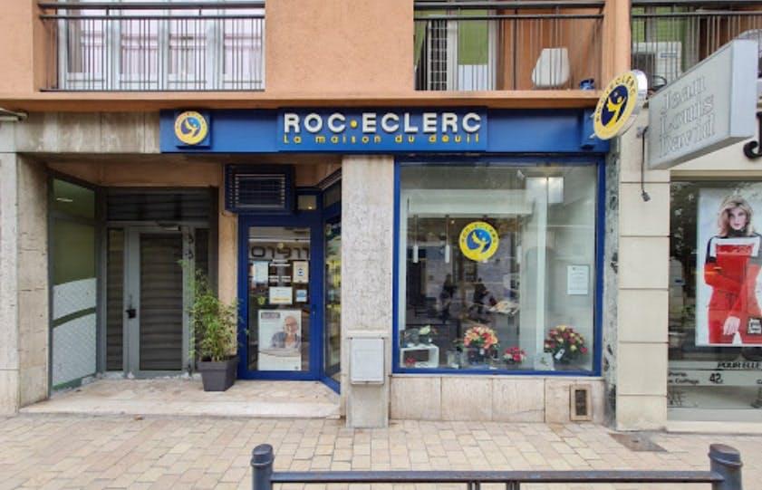 Photographies des Pompes Funèbres Roc'Eclerc à Vence