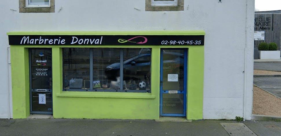 Photographie de la Marbrerie Donval à Plabennec