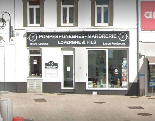 Photographie Pompes Funèbres et Marbrerie Lovergne Etaples