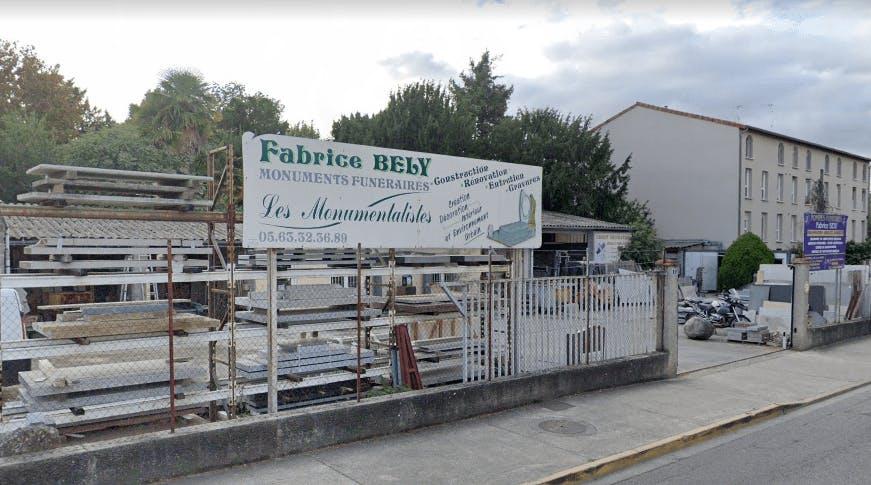 Photographie de la Marbrerie BELY Fabrice à Castelsarrasin