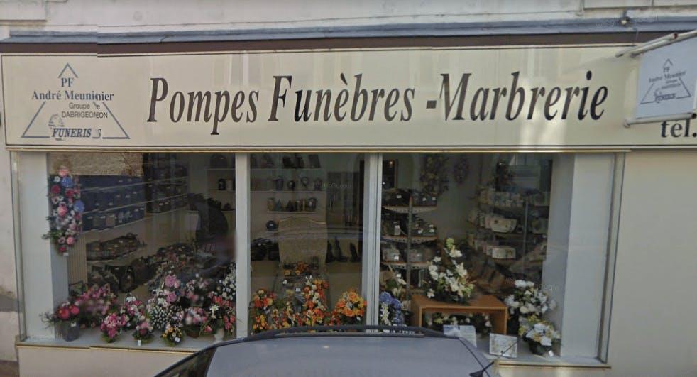 Photographie Pompes Funèbres Meunier de Varennes-sur-Allier