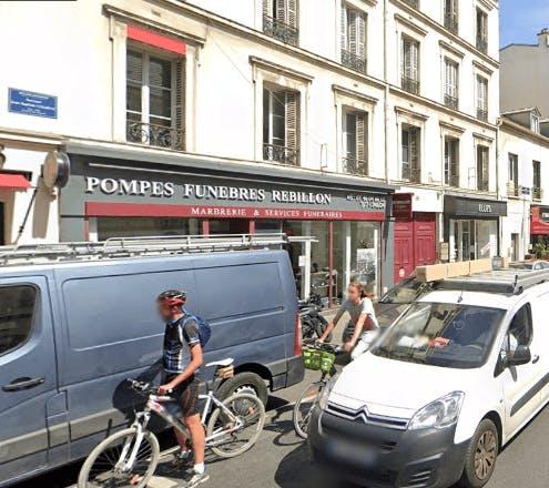 Photographie de la Pompes Funèbres REBILLON à Boulogne-Billancourt