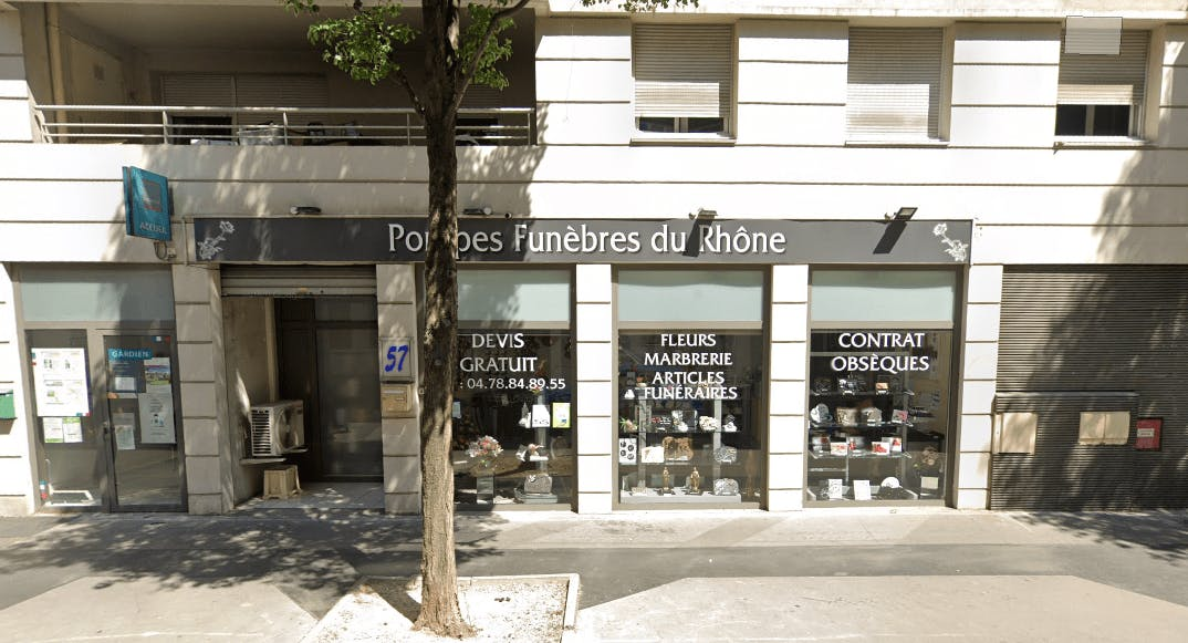 Photographie Pompes Funèbres du Rhône à Villeurbanne