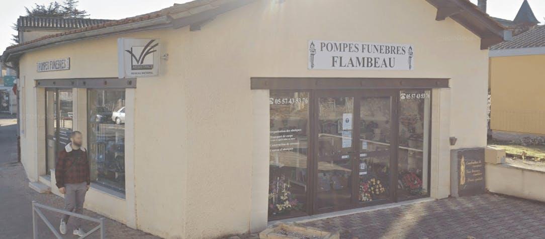 Photographie Pompes Funèbres Flambeau de Saint-André-de-Cubzac