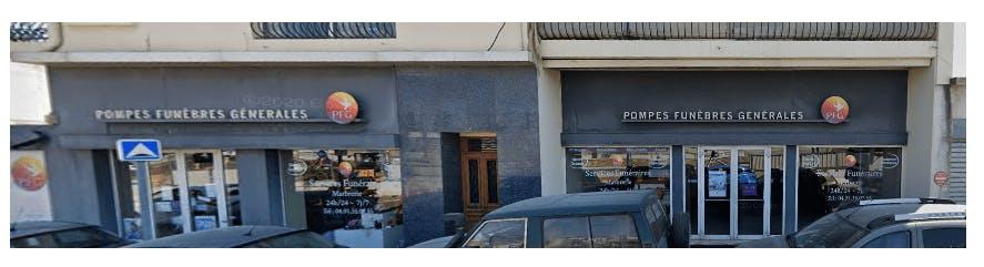 Photographie de la POMPES FUNÈBRES GÉNÉRALES à Marseille