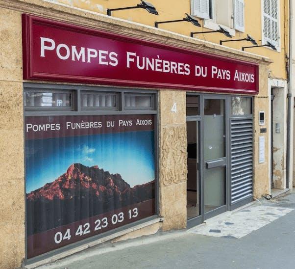 Photographie de la Pompes Funèbres ROBLOT à Aix-en-Provence