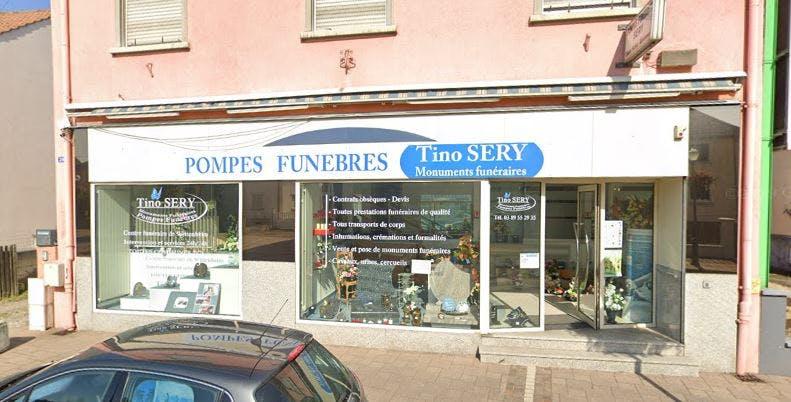 Photographie de la Pompe Funèbre Tino Sery à Wittelsheim