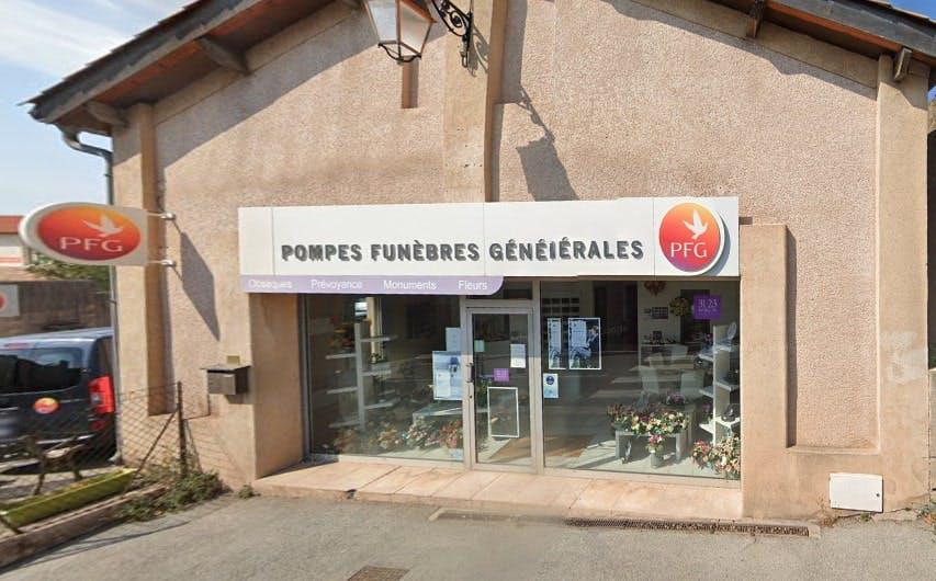 Photographies des Pompes Funèbres Genérales à Fréjus