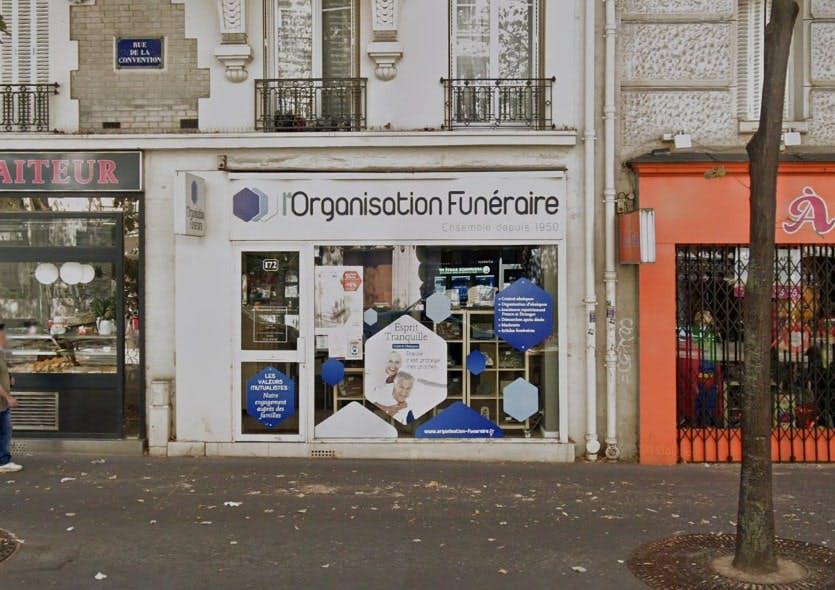 Photographies De L'Organisation Funéraire à Paris