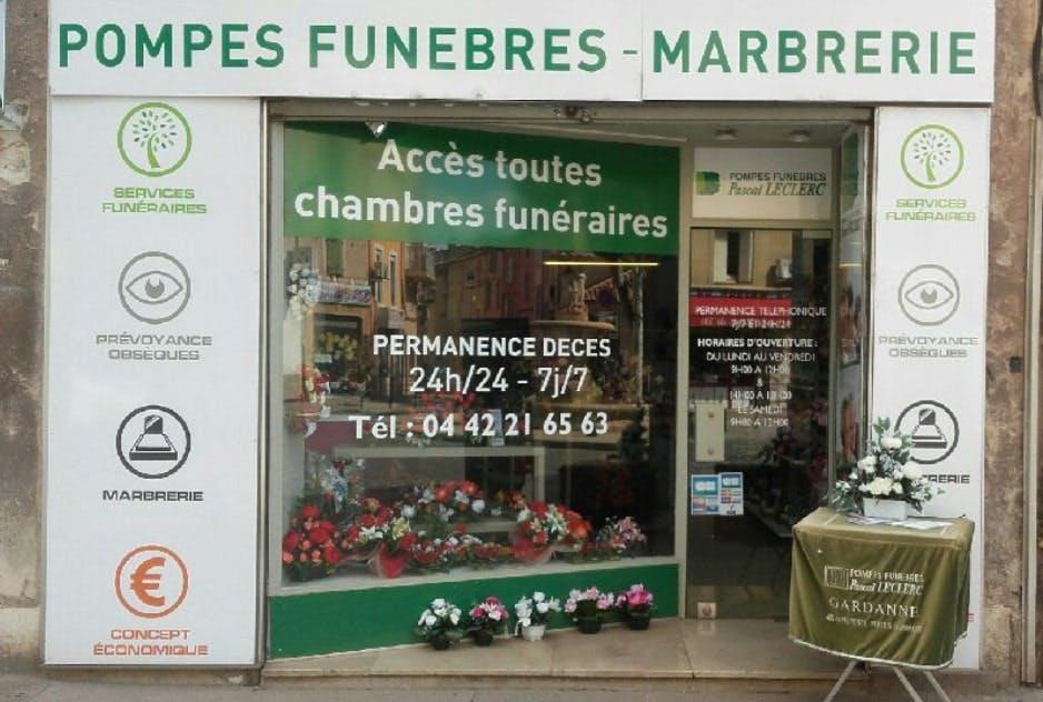 Photographie des Pompes Funèbres Pascal Leclerc à Gardanne