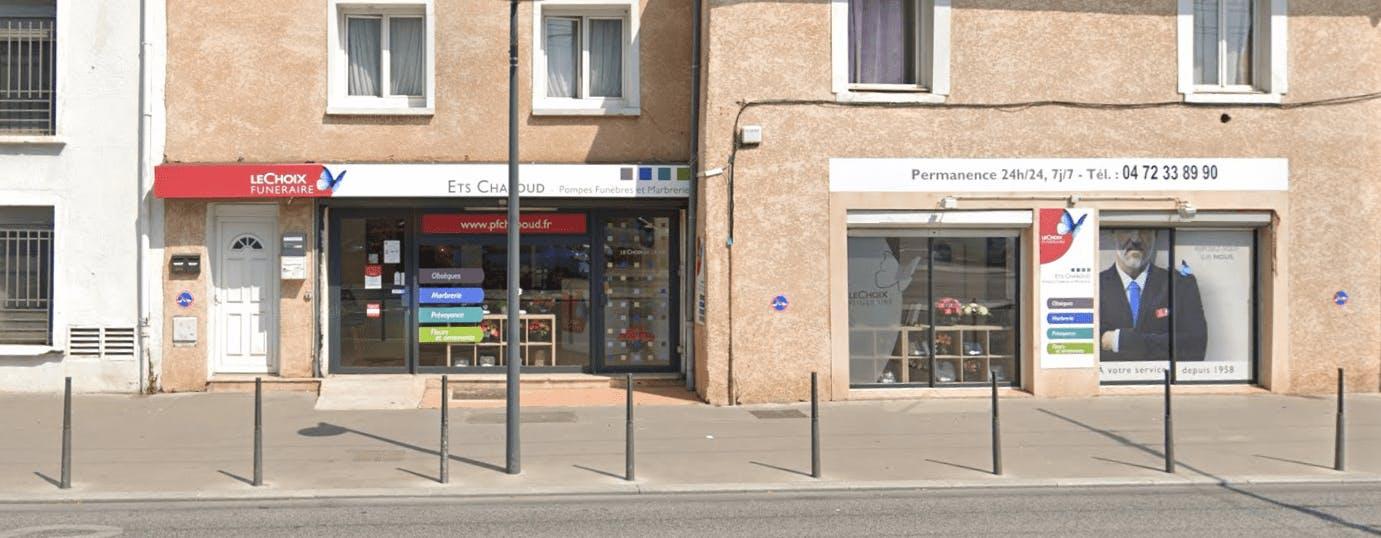 Photographie Pompes Funèbres CHABOUD à Villeurbanne