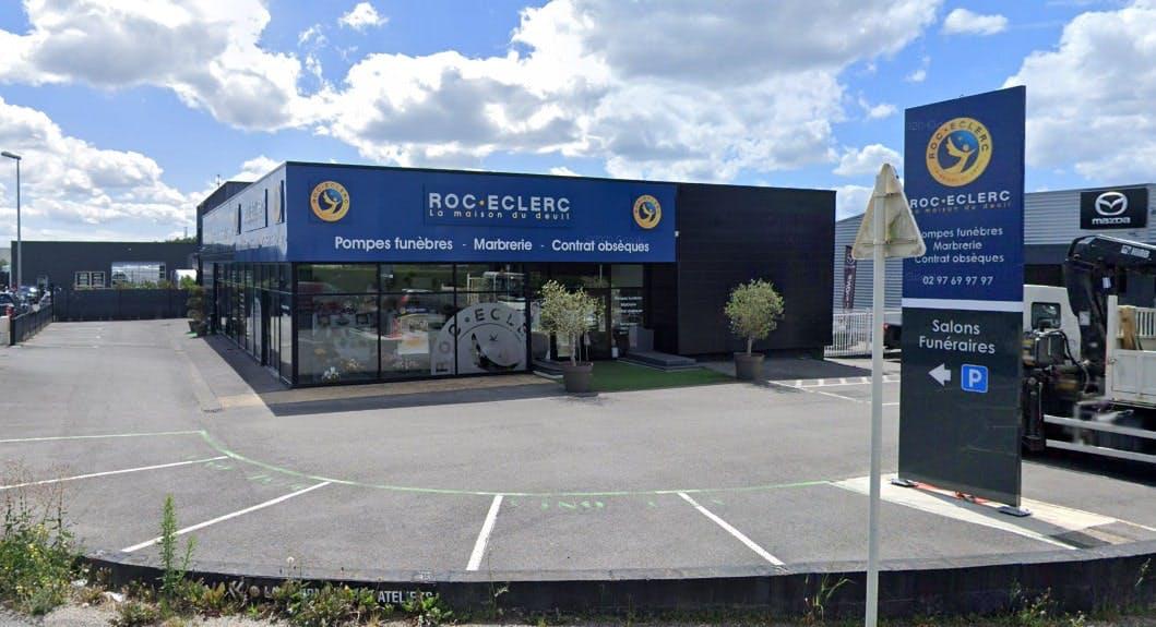 Photographies des Pompes Funèbres Roc'Eclerc à Vannes