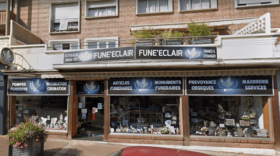 Photographie Fune'Eclair Pompes Funèbres Marbrerie de Maubeuge
