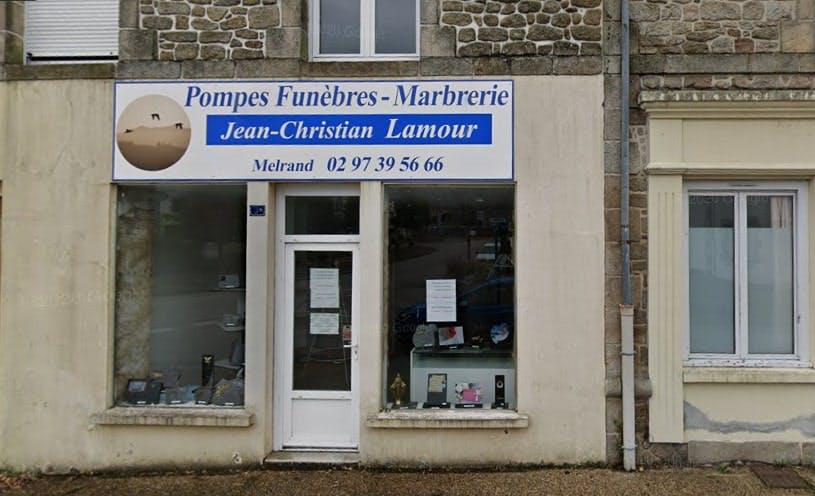 Photographie de Pompes funèbres Marbrerie Jean-Christian Lamour de Melrand