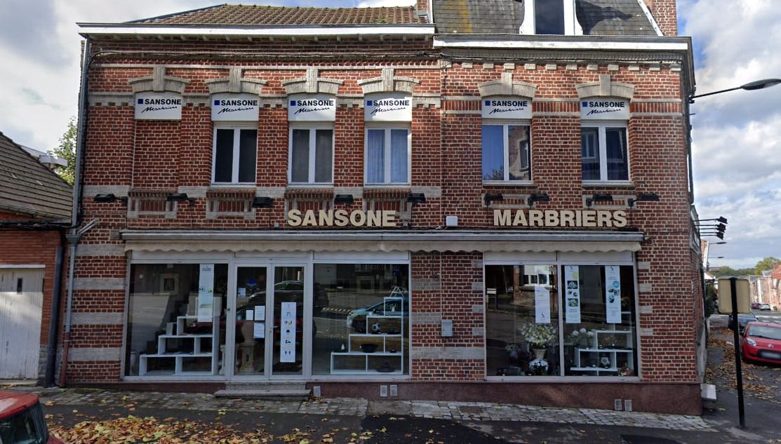 Photographies de la Marbrerie Sansone à Valenciennes