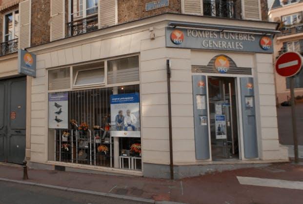 Photographie Pompes Funèbres Générales de Saint-Cloud
