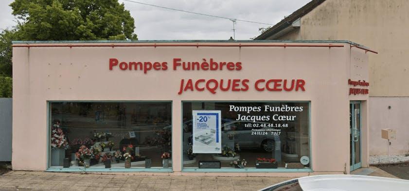 Photographie de la Pompes Funèbres Jacques Coeur  à Bourges