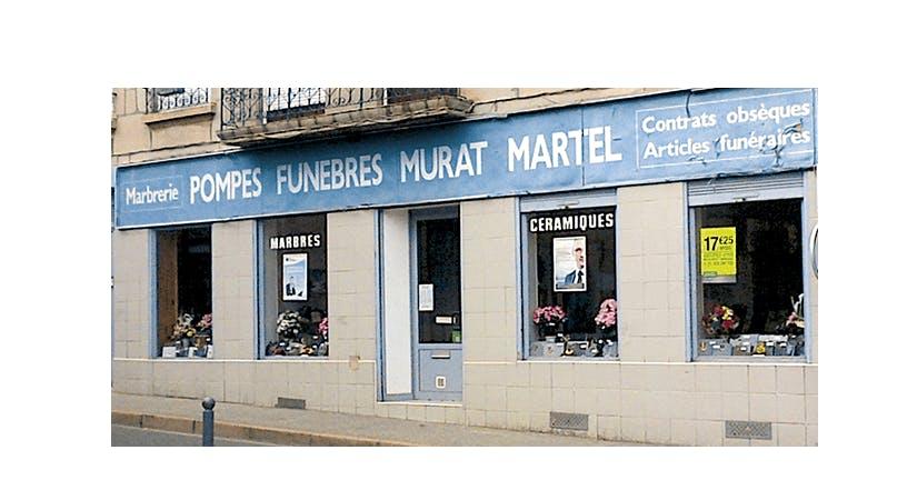 Photographie de la Pompes Funèbres et Marbrerie Murat Martel à La Ricamarie