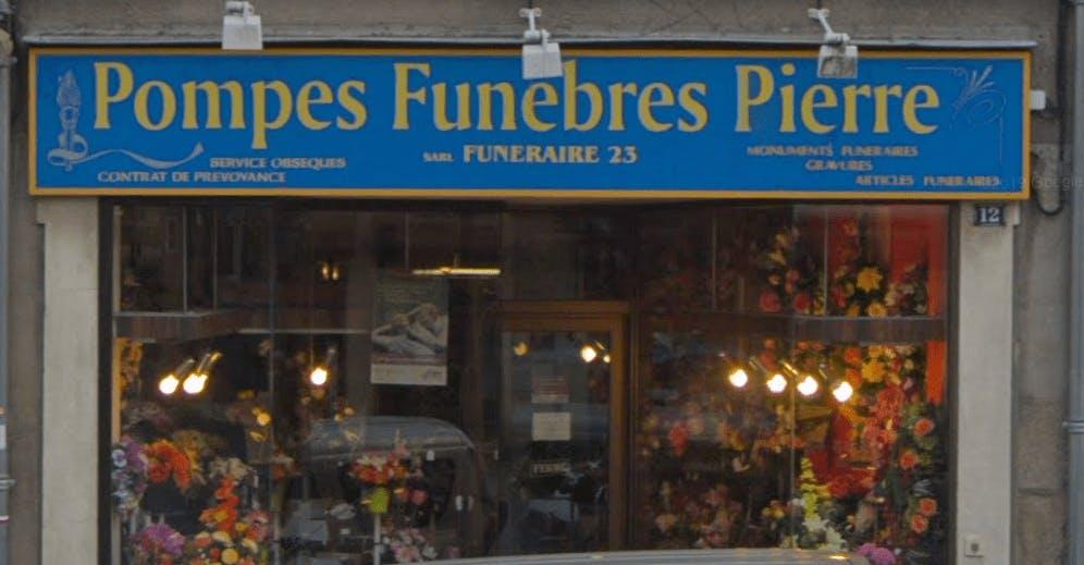 Photographie de Pompes Funèbres Pierre de la ville de La Souterraine