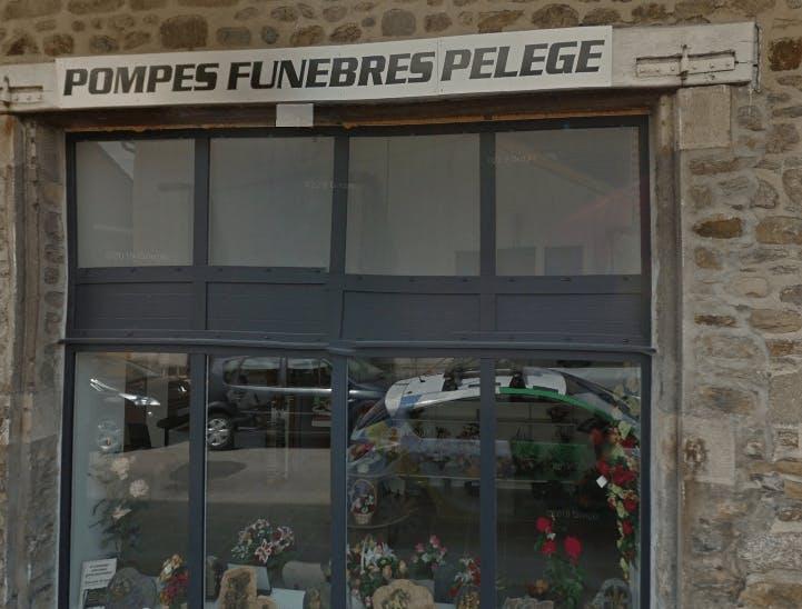 Photographie de Pompes Funèbres Pelège de la ville de Bourganeuf