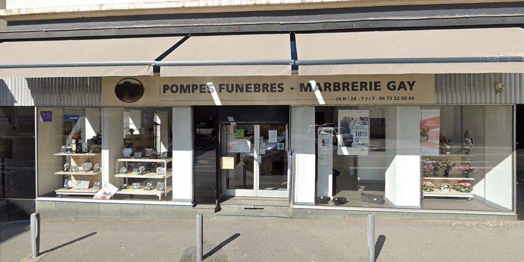 Photographie Pompes Funèbres et Marbrerie Gay de Saint-Chamond