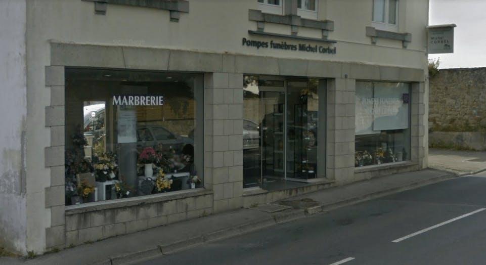 Photographie de la Pompes Funèbres et Marbrerie Michel Corbel à Pont-l'Abbé