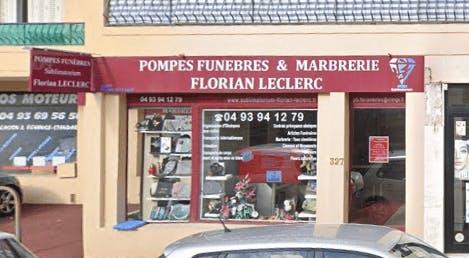 Photographie de la pompes funèbres Florian Leclerc à Cannes