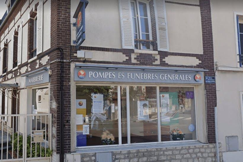 Photographie Pompes Funèbres Générales de Mantes-la-Jolie