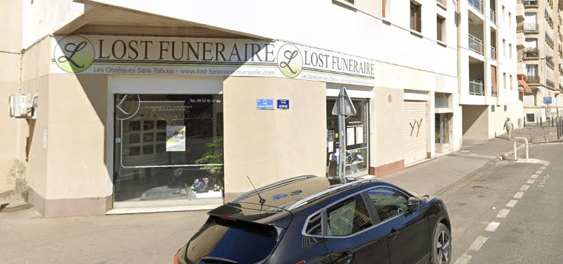 Photographie de la Lost Funéraire à Marseille