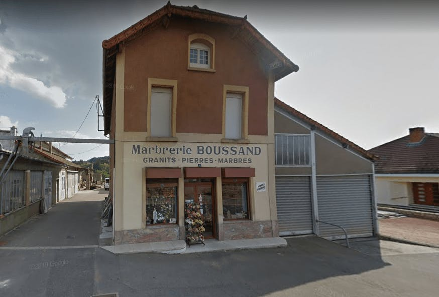 Photographie de la Pompes Funèbres et Marbrerie Boussand  de la ville de Chauffailles