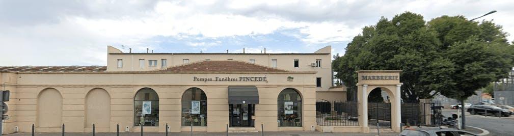 Photographie de la Pompes Funèbres et Marbrerie Pincedé à Marseille