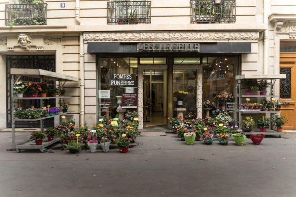 Photographies des Pompes Funèbres Montmartre Lescarcelle à Paris