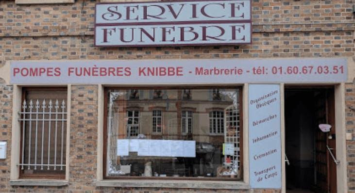 Photographie de POMPES FUNEBRES KNIBBE(établissement secondaire) de Bray-sur-Seine