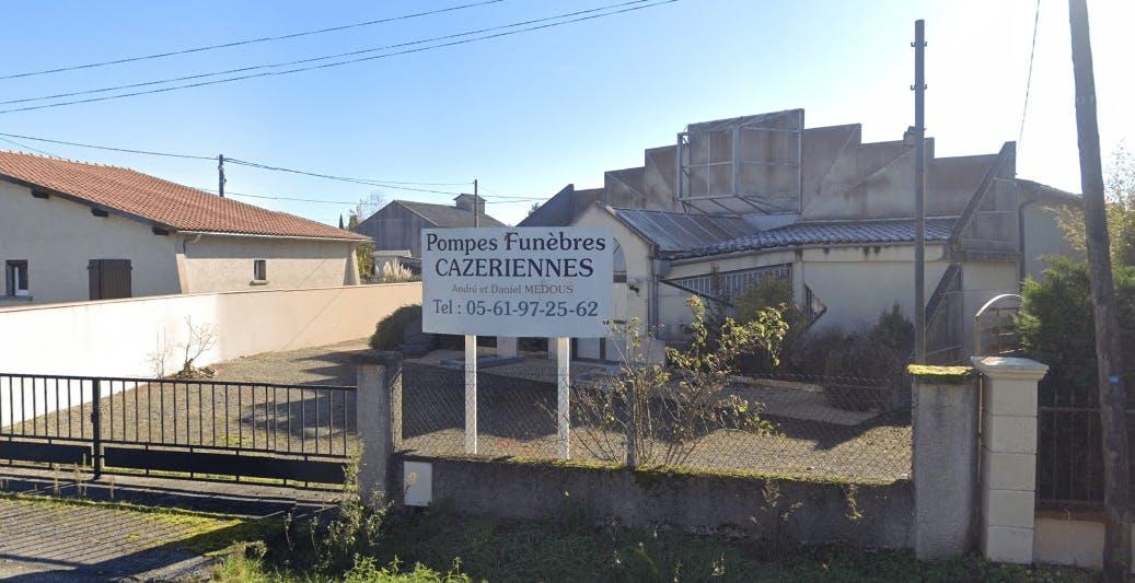 Photographie Pompes Funèbres Cazeriennes de Cazères
