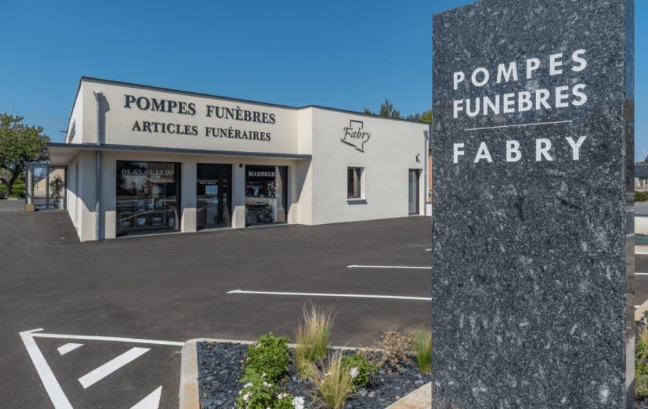 Photographie de Fabry Pompes Funèbres de Luc-la-Primaube