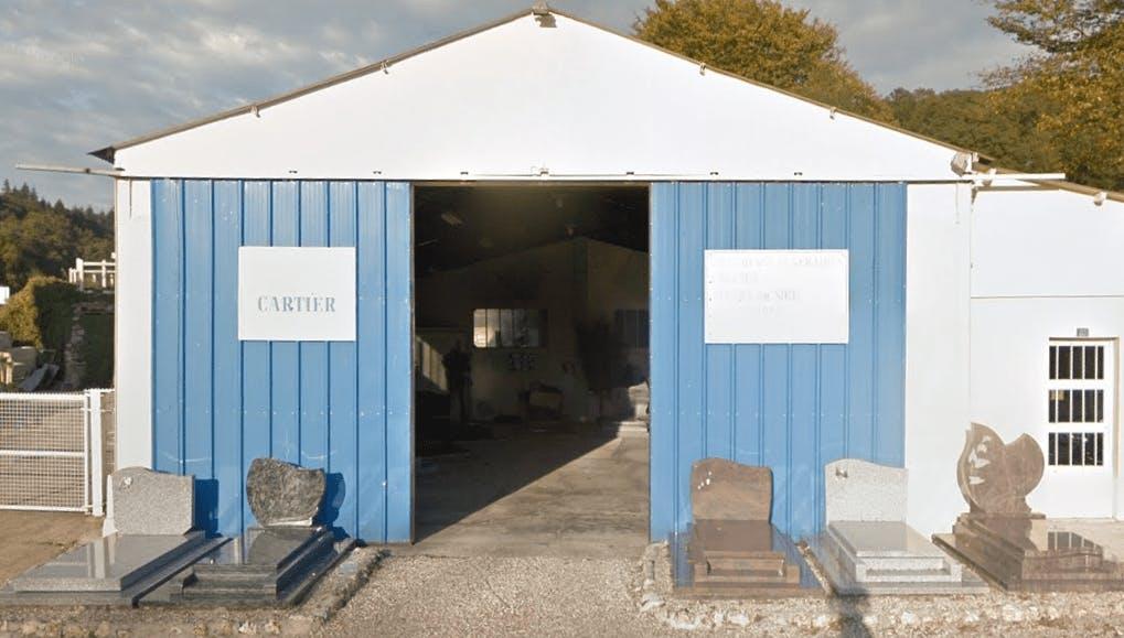Photographie Marbrerie CARTIER de Corneville-sur-Risle