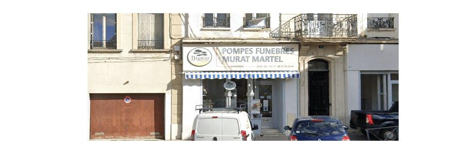 Photographie de Pompes Funèbres et Marbrerie Murat Martel la à Saint-Etienne