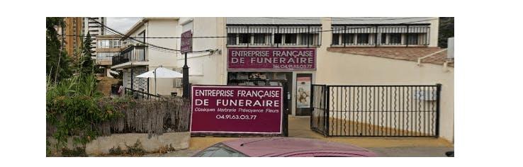 Photographie de l' Entreprise Française de Funéraire à Marseille