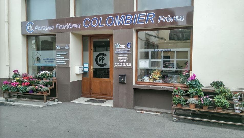 Photographie Pompes Funèbres Colombier Frères Vienne