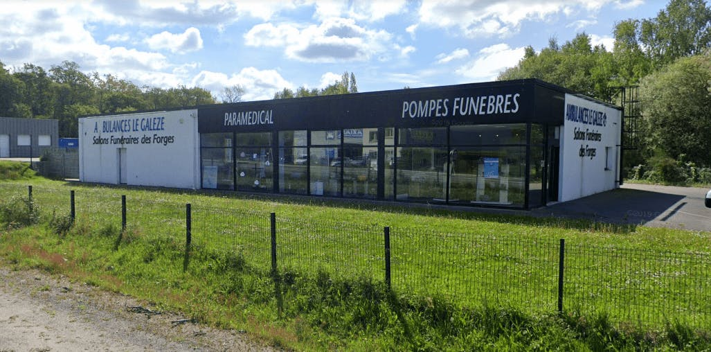 Photographie de la Pompes Funèbres Le Galèze à Hennebont