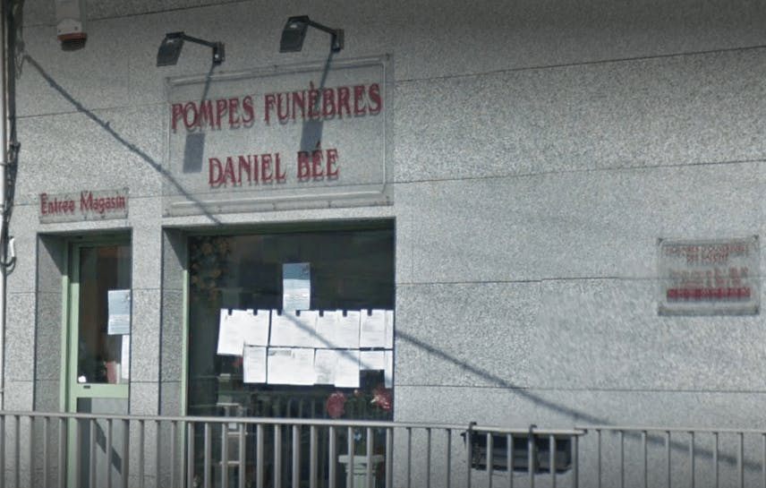 Photographie de la Pompes Funèbres Daniel Bée de la ville de Lumbres