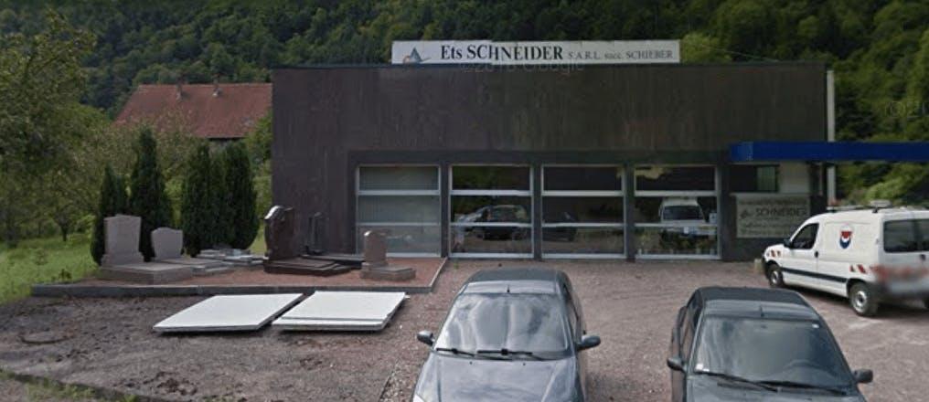 Photographie de la Marbrerie Schneider à Saint-Amarin