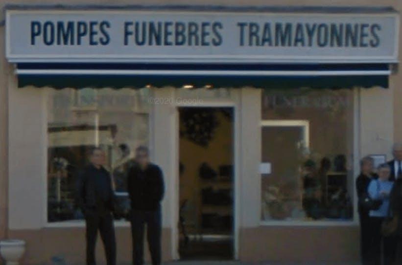 Photographie de la Pompes Funèbres Rivière   de la ville de Tramayes