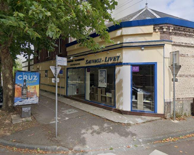 Photographie Pompes Funèbres et Marbrerie Sauvage Livet Sotteville-lès-Rouen