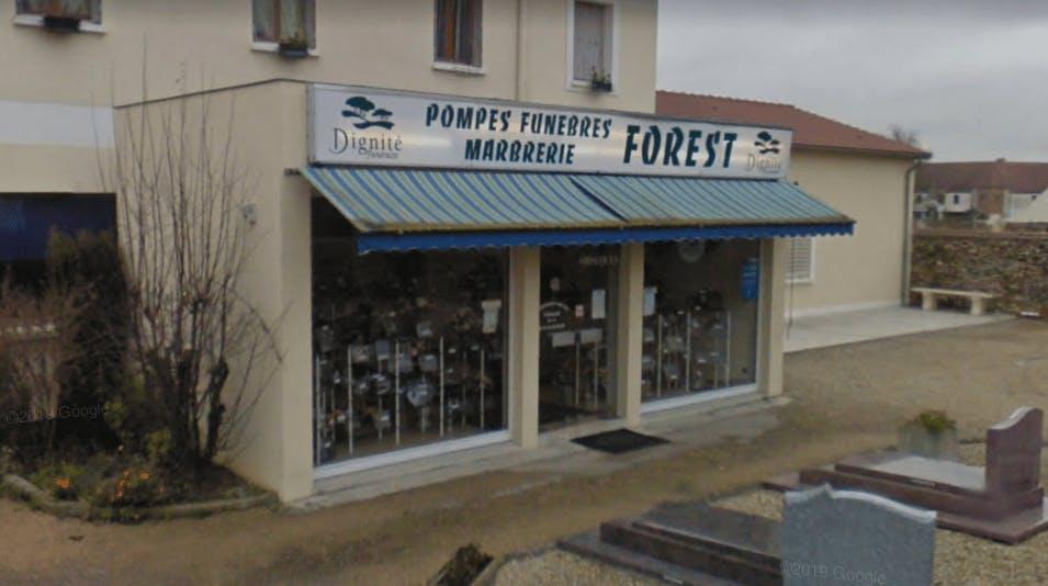 Photographie Pompes Funèbres et Marbrerie FOREST de Rozay-en-Brie