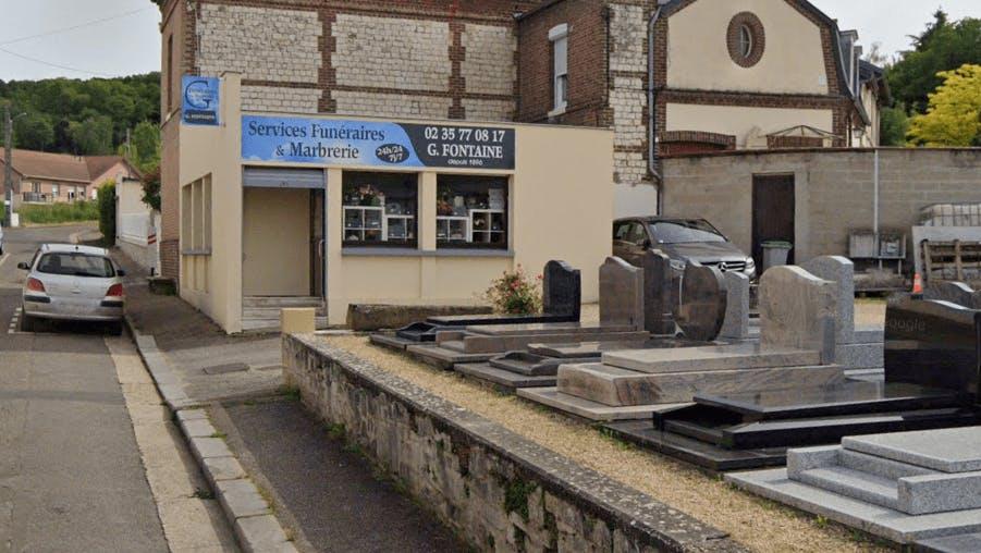 Photographie de la Pompes Funèbres G.Fontaine à Caudebec-lès-Elbeuf