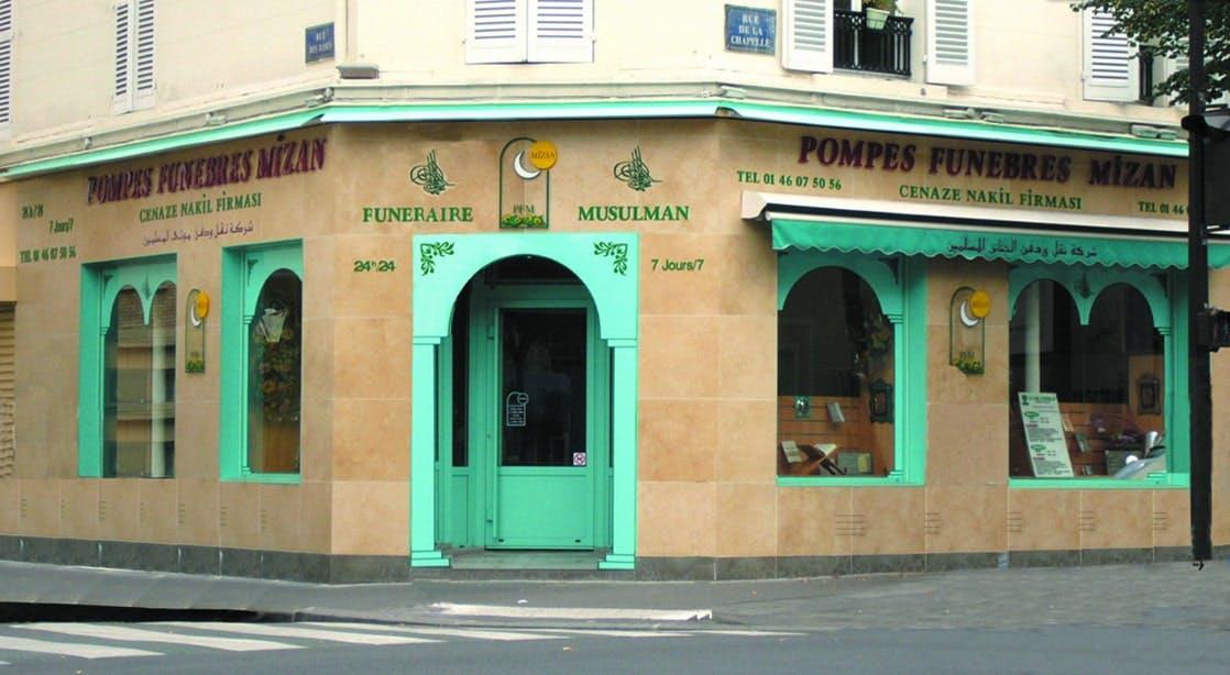 Photographies des Pompes Funebres Mizan à Paris