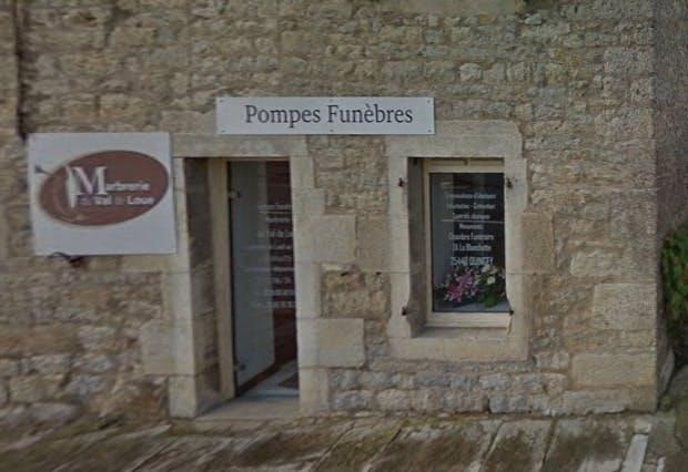 Photographies des Pompes Funèbres Marbrerie du Val de Loue à Arc-et-Senans