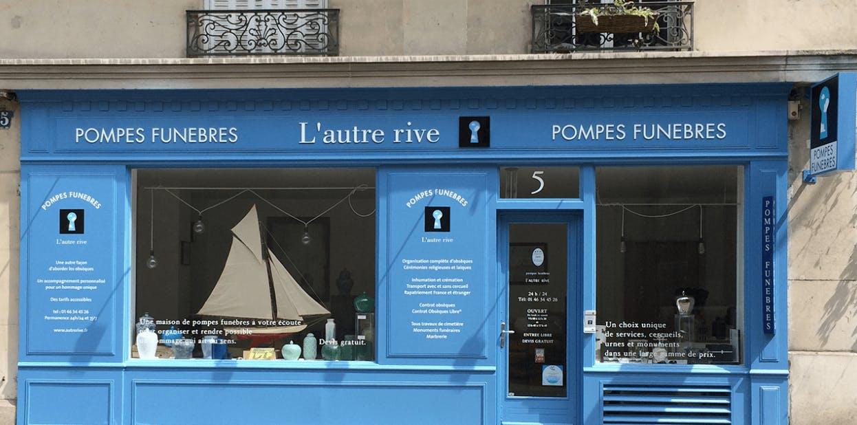 Photographie de la Pompes Funèbres L'autre rive à Paris